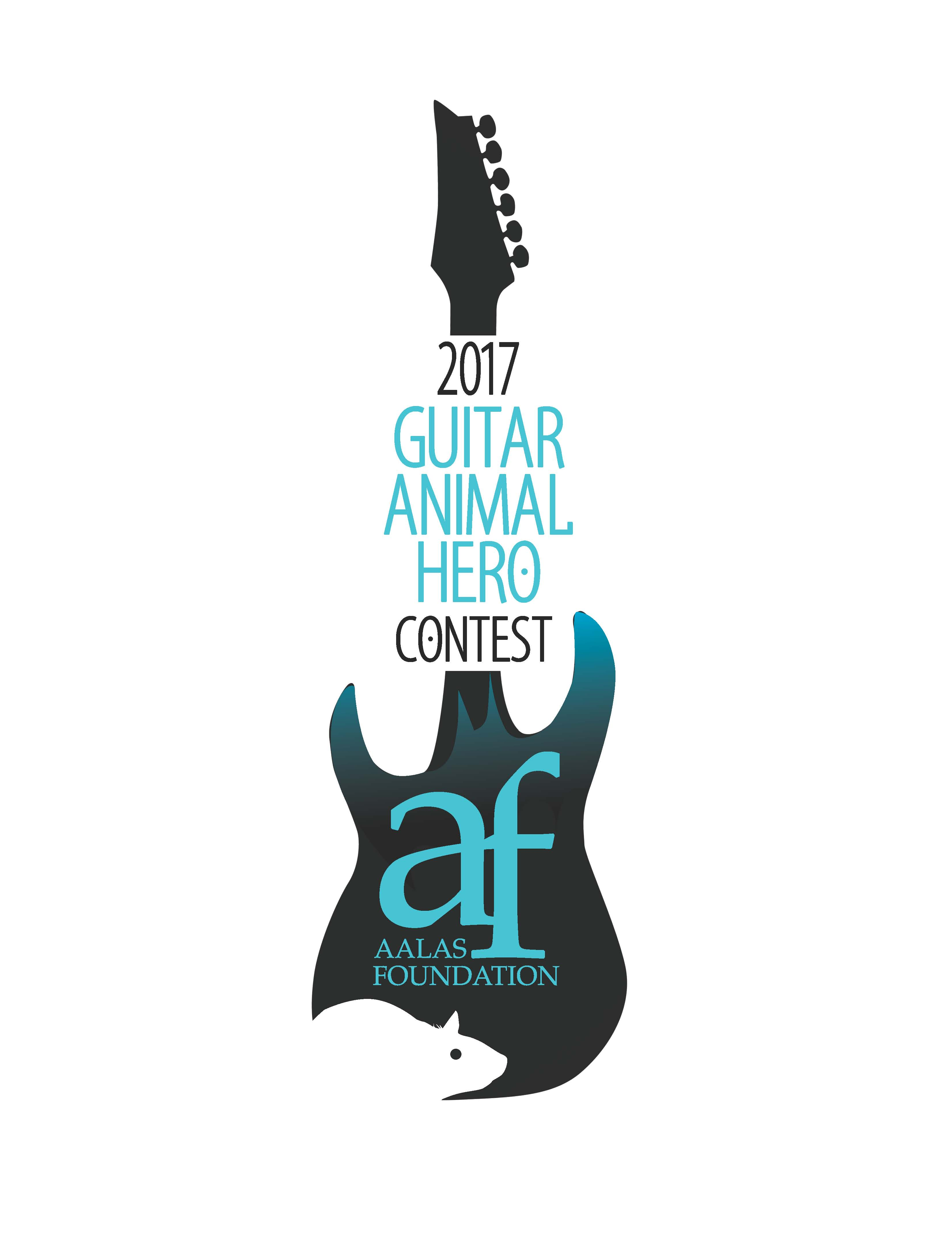 "AALAS Foundation Announces 2017 ""Guitar Animal Hero"" contest!"
